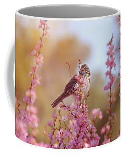 Spring Sparrow Coffee Mug by Lynn Bauer