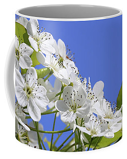 White Spring Blooms 051618 Coffee Mug