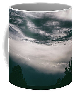 Coffee Mug featuring the photograph Spring Storm Cloudscape by Jason Coward