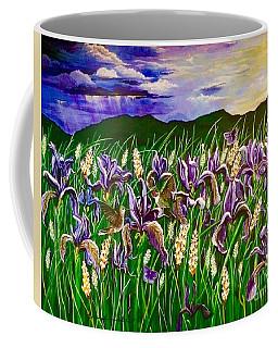 Spring Storm  Iris Fields Coffee Mug