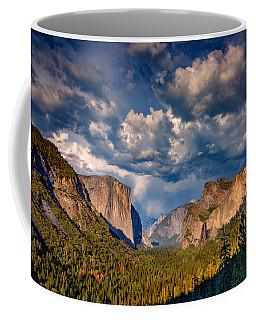 Spring Storm Over Yosemite Coffee Mug