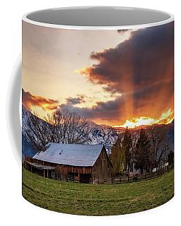 Spring Sunbeams At East Fork Ranch Coffee Mug