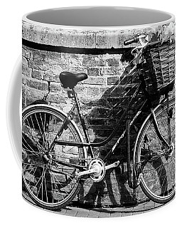 Coffee Mug featuring the photograph Spring Sunshine And Shadows In Black And White by Gill Billington