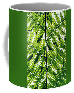 Coffee Mug featuring the photograph Spring Symmetry by Gene Garnace