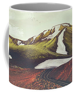 Winter Landscapes Digital Art Coffee Mugs