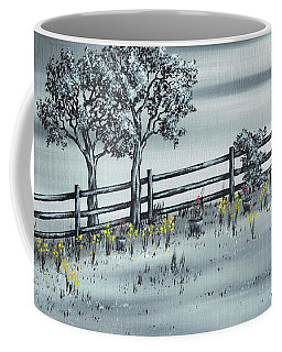 Coffee Mug featuring the painting Spring Time by Kenneth Clarke