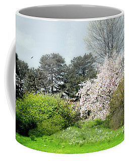 Coffee Mug featuring the photograph Spring Treasures by Diana Angstadt