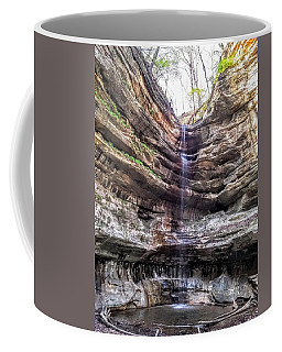 Coffee Mug featuring the painting Spring Trickling In by Darren Robinson
