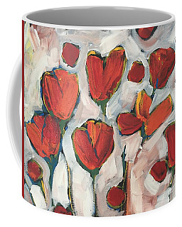 Spring Tulip Garden Coffee Mug