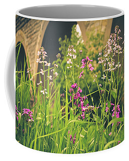 Coffee Mug featuring the photograph Spring Under The Arches by Viviana  Nadowski