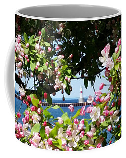 Coffee Mug featuring the photograph Spring View by Wendy Shoults