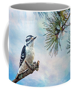 Spring Woodpecker Coffee Mug
