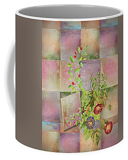 Springing Through Coffee Mug by Larry Bishop