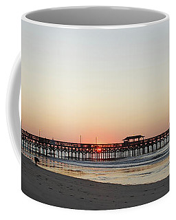 Springmaid Pier Sunrise Coffee Mug