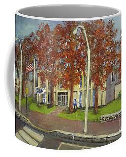 Springtime At Waltham Police Station Coffee Mug