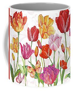 Springtime Botanicals-a Coffee Mug