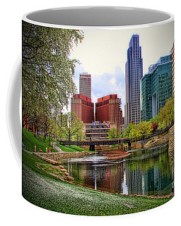 Springtime In Omaha Coffee Mug by Elizabeth Winter
