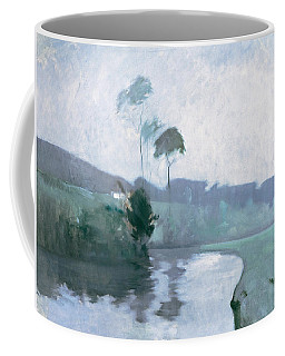 Coffee Mug featuring the painting Springtime by John Henry Twachtman
