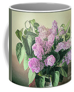 Coffee Mug featuring the photograph Springtime Lilacs by Luther Fine Art