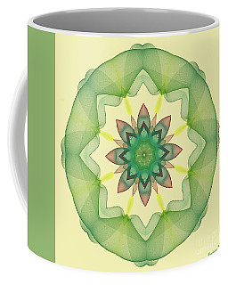 Springtime Mandala Coffee Mug by Dragica Micki Fortuna