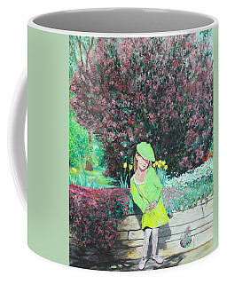Springtime On Iris Coffee Mug