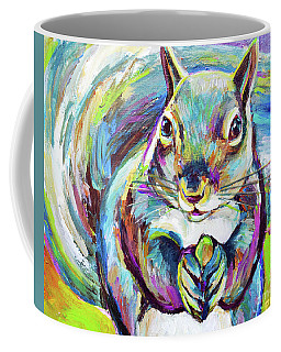 Springtime Squirrel Coffee Mug by Robert Phelps