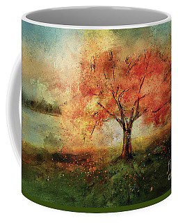 Coffee Mug featuring the digital art Sprinkled With Spring by Lois Bryan