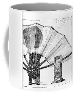 Spirit Of Japan. Fan And Matchbox Coffee Mug