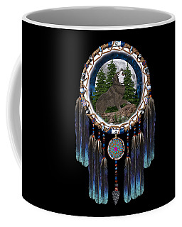 Sprit Of The Wolf Coffee Mug by Walter Colvin