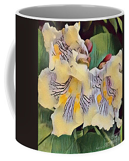 Coffee Mug featuring the photograph Spun Gold by Kathie Chicoine
