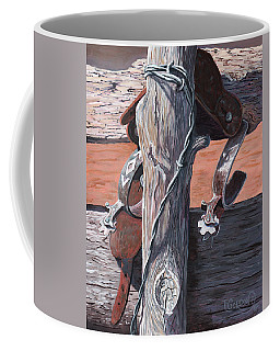 Spurs Needing Boots Coffee Mug