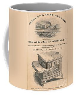 Spuyten Duyvil Stoveworks  Coffee Mug by Cole Thompson