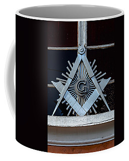 Square And Compass Coffee Mug