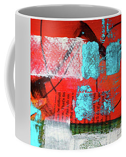Square Collage No. 10 Coffee Mug
