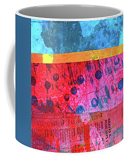 Square Collage No. 12 Coffee Mug