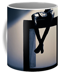 Coffee Mug featuring the photograph Square Foot by David Sutton