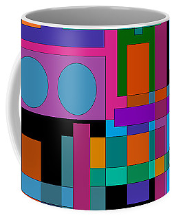 Square Pegs Coffee Mug