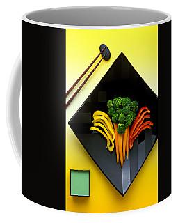 Square Plate Coffee Mug