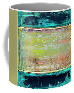 Coffee Mug featuring the painting Art Print Square3 by Harry Gruenert