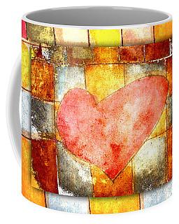 Squared Heart Coffee Mug