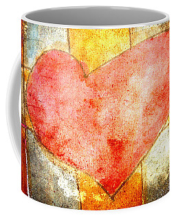 Squared Heart Coffee Mug
