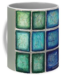 Squared In Silver  Coffee Mug