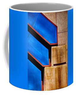 Squares And Lines Coffee Mug by Karol Livote