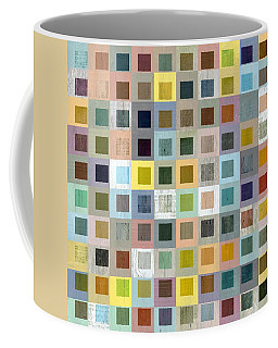Squares In Squares Three Coffee Mug by Michelle Calkins