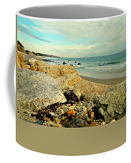 Squibby Cliffs And Mackerel Sky Coffee Mug