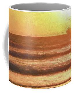 Squid Boat Sunset Coffee Mug