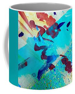 Squiggles And Stripes Coffee Mug by Darice Machel McGuire