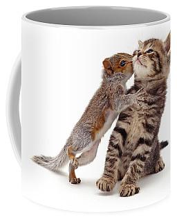 Squirrel Kiss Coffee Mug