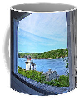 Squirrel Point View From The Deck Coffee Mug