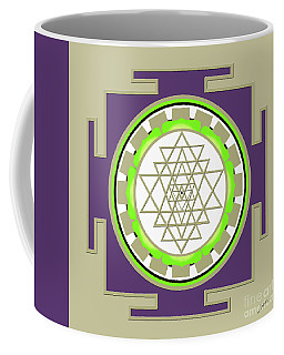 Sri Yantra Of Prosperity Coffee Mug